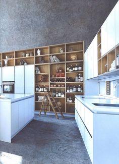 NX902 Polariswit mat glas : Moderne keukens van Eiland de Wild Keukens
