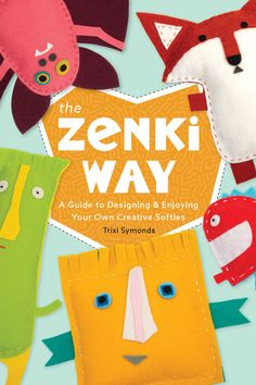 A fun book with the simplest to sew soft toys in the universe. Easy Sewing Projects, Sewing Projects For Beginners, Fun Projects, Fun Crafts, Crafts For Kids, Community Organizing, Key Design, Kids Learning, Teaching Kids