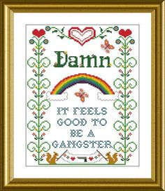 Cross stitch is the best!