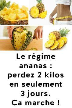 Le régime ananas : perdez 2 kilos en seulement 3 jours. Ca marche !