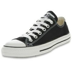 Black Converse shoes - wear these everyday, everywhere. Loved it when Kristen Stewart wore converse sneakers with a pretty dress to an awards ceremony!