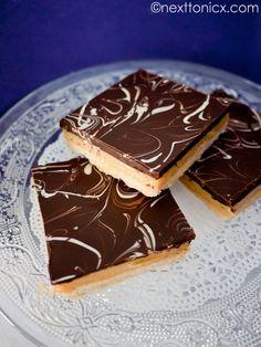Gluten free caramel slice