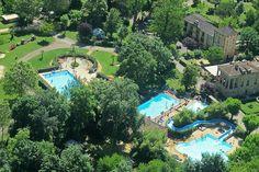 Camping RCN Le Moulin de la Pique ligt op een historisch landgoed in Belvès in de Dordogne. De vijfsterrencamping is gesitueerd in een romantische
