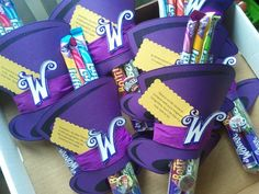 Wonka party favour