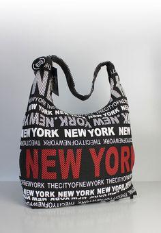 """Große Schultertasche New York """"urban style"""""""