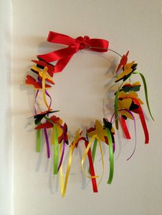 Butterfly Spring Wreath