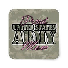 Proud US Army Mom Sticker He wants to go the delayed entry route, so we've got seven years to go Army Mom Quotes, Wife Quotes, Army Symbol, Military Mom, Military Style, Army Tattoos, Us Army Soldier, Army Clothes, Air Force Mom