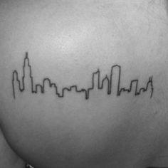 girls city skylines most beautiful tattoo girls draw tattoos and body ...