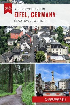 Adrian takes us back to Germany's Eifel region for the second half of his slow travel cycle trip from Stadtkyll to Trier, biking through stunning villages and towns in the German countryside.