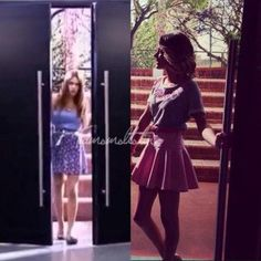 #violetta3 #tinistoessel Disney Channel Original, Disney Channel Shows, Netflix Kids, Star Wars, Normal Girl, Teen Actresses, Skater Skirt, Queens, Tv Shows