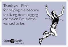 Lol I walk around my house every day. Just call me the living room jogging champion. Thanks! #ForeverFit