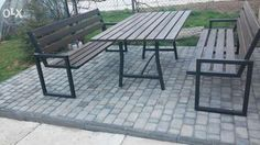 meble ogrodowe metalowe Nowe Brzesko - image 2