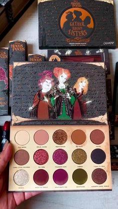 Colourpop Eyeshadow, Colourpop Cosmetics, Makeup Cosmetics, Makeup Geek, Makeup Kit, Eye Makeup, Makeup Morphe, Hocus Pocus, Halloween Makeup
