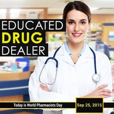 #WorldPharmacistsDay is observed annually on September 25.  On this day, the International Pharmaceutical Federation (FIP) highlights the role pharmacists play in improving health in every corner of the world and encourages them to organise activities that promote their activities. #Pharmacists