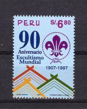 Perú - 90 años Boy Scout movimiento de 1997-post frescos **