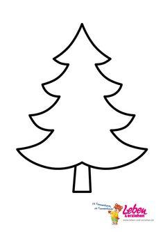 Malvorlage Tannenbaum Einfach Kostenlos Vorlagen Trockenfilzen