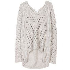 hello cozy helmut lang knit sweater... you are going to look lovely on me!