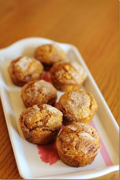 Delicious and easy to make Pumpkin Apple Spice Muffins! Add this to your list of yummy pumpkin fall recipe's and enjoy every bite.