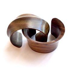 Wooden Cuffs. $50 Each. www.meredithjackson.com