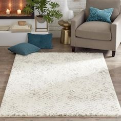 allen + roth Alvida 8 x 10 Natural Indoor Chevron Farmhouse/Cottage Area Rug in the Rugs department at Lowes.com Lowes Outdoor Rugs, Lowes Rugs, Area Rug Placement, Living Room Rug Placement, Cheap Living Room Rugs, Living Room Decor, Chevron Area Rugs, Modern Apartment Decor