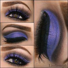 Beautiful Amethyst purple cut crease - @Linda Murrieta