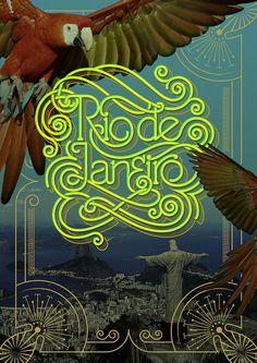 Show us your type: Rio de Janeiro by bobsta14, via Flickr