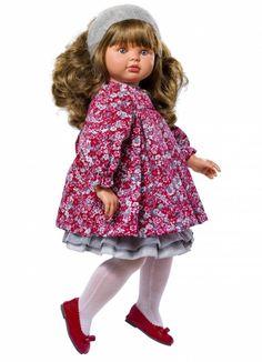 Кукла Пепа в розовом платьице, 60 см.