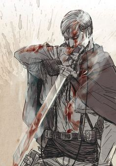 Erwin Smith / Levi | Shingeki no Kyojin