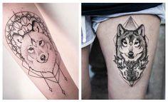 Resultado de imagen de lobo geometrico