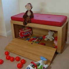 wooden toy boxes | Ryder Wooden Toy Box