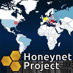 """The #Honeynet Project is making some real waves in the #malware community by setting up """"sensors"""" across the #Internet (in the fashion of honeypot servers pretending to be possible targets) in order to track the spread and distribution of malware.    #security #visualization"""