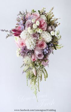 Special pricing will be applied for waterfall bouquet