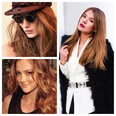 Bronde and red are both forecast to be big trend for the coming year, so why not combine them? This sunny hue is a blend of caramel and copper that hits both trends simultaneously. It's subtle enou...