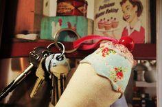 my sweet cloud: ice cream keychain