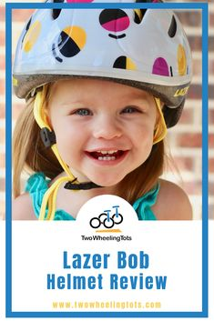 If you're looking for the best bike helmet for your toddler, you've come to the right place! We review the best in bikes and helmets to keep you kids safe and having a great time! In this review we take a look at the Lazer Bob helmet. Read on for the pros/cons of this popular helmet for the littlest noggins. Cool Bike Helmets, Kids Helmets, Bicycle Helmet, Lazer Helmets, Bike Equipment, Balance Bike, Hydration Pack, Kids Bike, Cute Designs