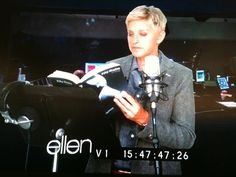 Ellen reads Fifty Shades of Grey