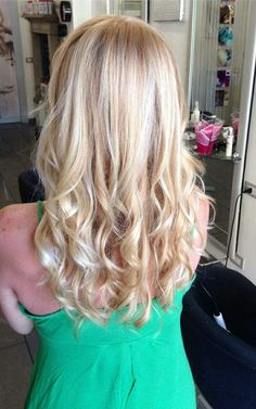Blonde is rich and full of shine  #hair #haircolor #hairstyle #blonde #fashion #colorance #goldwell #balayage