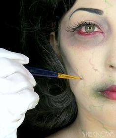 Zombie Disney princess makeup tutorials will make your skin crawl