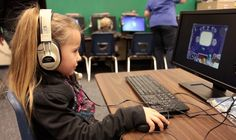 Tigran photo of young student using Imagine Learning in Utah