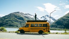 Rowdy Bus Goes North - Alaska Road Trip