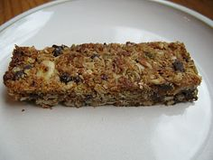 These grain-free granola bars are perfect.  My husband packs one in his lunch every day.