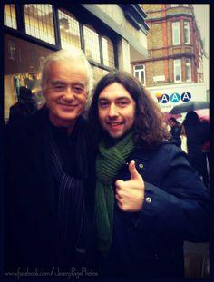 Jimmy with a fan in London / 12.11.2013