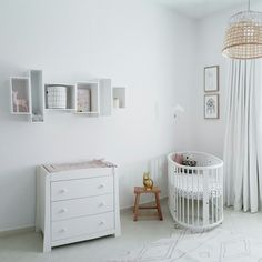 Un deslumbrante dormitorio en color blanco