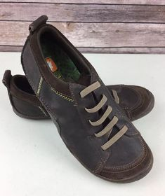 c460e6e52d94 Cushe Evo Spring Mens 10 Brown Leather Pull On Shoes EUC  fashion  clothing   shoes  accessories  mensshoes  casualshoes (ebay link)