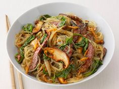 Korean Beef Noodles - I have made this recipe several times and it is delicious! It's one of my husband's favorite dishes!