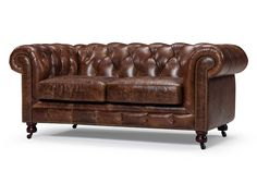 Canapé Chesterfield en cuir Kensington