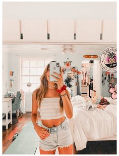 Summer Outfits For Teens, Teenage Girl Outfits, Summer Fashion Outfits, Summer Clothes, Basic Outfits, Cute Casual Outfits, Surfer Girl Outfits, Vsco, Ideias Fashion