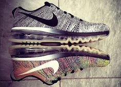 "Nike Flyknit Air Max ""Oreo"" and ""Multicolor"" Preview"