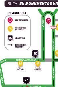 Cerrarán calles por carrera 5K