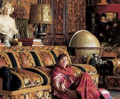 Rudolf Nureyev . Paris Apartment He lived in unbelievable luxury and decadence, like an oriental potentate.